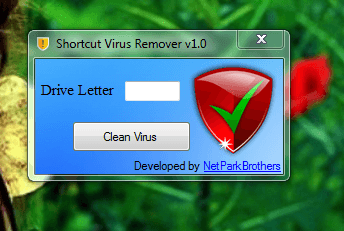 run on your shortcut virus remover