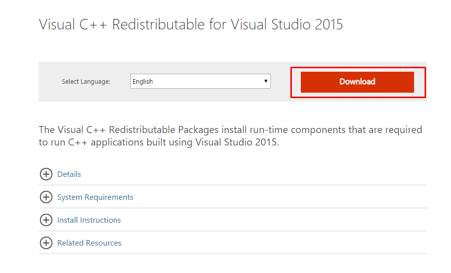 if you want to fix dll error then download visual c++ redistribution for this link