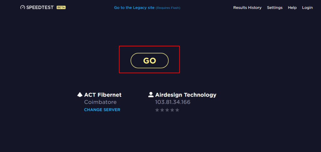 internet speed test online