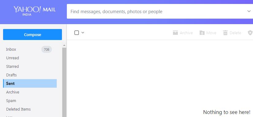 yahoo mail main page